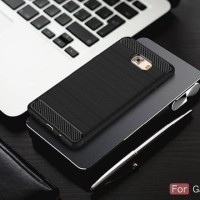 JUAL SAMSUNG C7 C9 PRO SPIGEN LIKE COVER SOFTCASE CARBON HP CASE FIBER