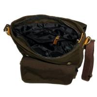 T2105 Tas Ransel Sling Messenger Bag Pria Wanita - Firefly Quincy Dark