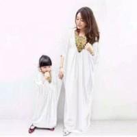 mk missy - baju gamis couple ibu dan anak 3 - 5 tahun / kaftan couple