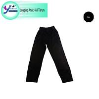 Celana Legging Anak (Hitam Polos)Yasta Fashion Kids - Size S, Hitam