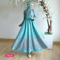 Gamis wanita muslim dress syari sabina