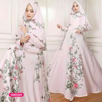 Gamis wanita muslim dress syari siska