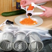 Parutan 3 in 1 Hand Rotary Multifunctional Grater