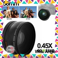 Super Wide Angle Lens with Macro 58mm for Canon - Hitam