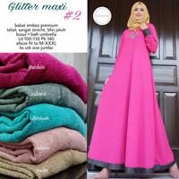 Glitter maxi 2 dress hijab by Maritza