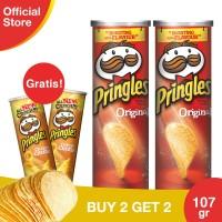 [Buy 2 Get 2 Free] Pringles Original 110gr Free CheesyCheese 110gr