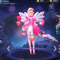 Jual Costume Kostume Cosplay Game Mobile Legends Miya Sweet Fantasy Jakarta Barat Gojek Familly Tokopedia