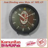 Jam Dinding dan Meja Football ACMILAN 20cm PROMO d4724d8e55