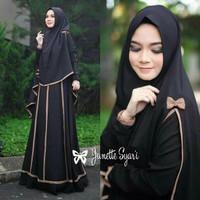 Gamis / Baju / Pakaian Wanita Muslim Janetta syari