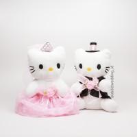 Jual Boneka Hello Kitty Pengantin Wedding Doll Pink Murah
