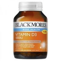 Jual BLACKMORES Black Mores Vitamin D D3 1000 iu 1000iu 200 Kapsul Murah