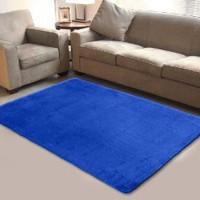 Karpet Bulu Halus Shaggy Baru Ukuran 140 x 190 cm Murah