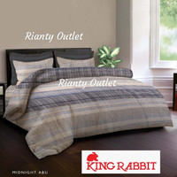 Bed Cover King Rabbit - Double 230 - Midnight Abu