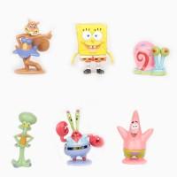 Spongebob Miniatur Action Figure Mainan