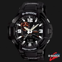 Jam CASIO G-SHOCK GA-1000-1A Ori Bm Hitam Kompas Aktif
