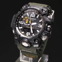 Jam G-Shock GWG-1000-1A3 MUDMASTER Original BM Hijau Army