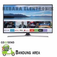 SAMSUNG 50 INCH SMART UHD LED TV 50MU6100 GARANSI RESMI SAMSUNG INDO