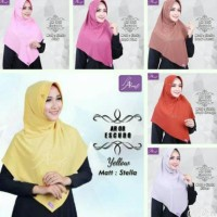 Hijab Instan Arrafi Eskudo (Turkish)-Ar08 / Kerudung / Jilbab /
