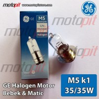 BEST QUALITY GE General Electric Halogen Motor Lampu M5 kaki 1 35W