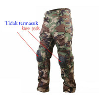 Combat Pants Import Model Emerson G3 Tanpa Knee Pads; Celana Tactical