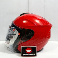 HELM INK DYNAMIC SOLID RED