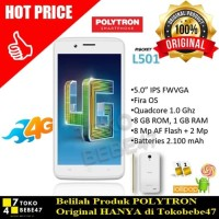 SALE SALE Handphone / HP Polytron Rocket 4GC1 L501 [RAM 1GB /