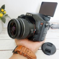 Kamera DSLR DSLT Sony A77 mulus bukan mirrorless canon nikon fujifilm
