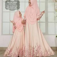 TOP Best Gamis couple mom kid sakura baju muslim ibu anak perempuan
