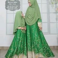 TOP Best baju muslim kapel ibu dan anak murah MAROON NAVY HITAM HIJAU