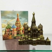 Souvenir Ultah Pernikahan Souvenir Dunia Miniatur Moscow Rusia Murah