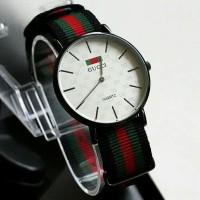 DMP jam tangan pria wanita murah best seller jtr 1168 putih ilf