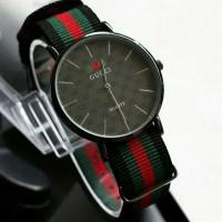 DMP jam tangan wanita pria laris best seller jtr 1168 hitam ilf