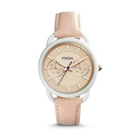 Jam Tangan Wanita Fossil Original Es4008 Tailor Blush Leather