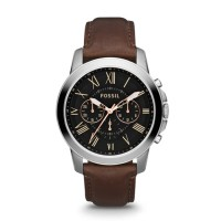 Jam Tangan FOSSIL Original Watch FS4813 GRANT BROWN LEATHER