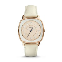 Jam Tangan Wanita Fossil Original ES3997 Idealist White Leather