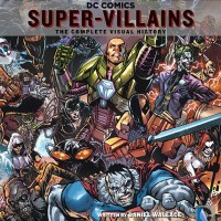 DC Comics Super Villains The Complete Visual History HC - English Book
