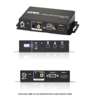 ATEN VC812 HDMI TO VGA CONVERTER WITH SCALER SUPPORT 1080P
