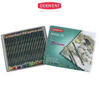DERWENT Artists Pencils Set 24 - Pensil warna merk Derwent Set 24