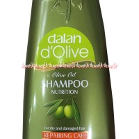 Dalan D'Olive Olive Oil Shampoo Nutrition Repairing Minyak Zaitun 400m