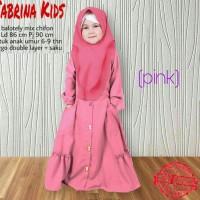Casual Dress Rina Bergo Gamis Syari Hijab Anak Muslimah Terkini