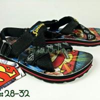 Sepatu Sandal Gunung Sponge Anak Laki-laki Superman - Ando - SPM 8802