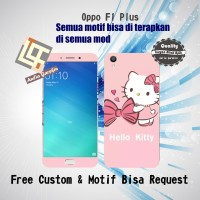 Garskin HP Oppo F1 PLUS motif Hellokitty - motif bisa request