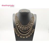 Harga kalung rantai etnik hijab necklace aksesoris wanita murah wanita | Pembandingharga.com