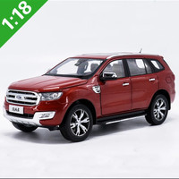 DIECAST 1/18 SCALE FORD EVEREST RED MOBIL MINIATUR SUPER DETAIL