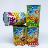 Super Cat Adult Can 400 gr - Makanan Basah Kucing
