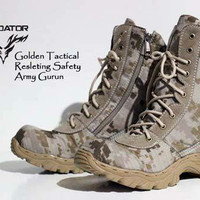 sepatu boots original predator golden gurun tactical militer safety