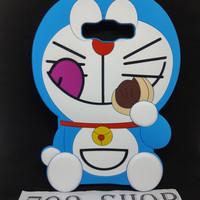 Case 4D Doraemon Dorayaki SAMSUNG GALAXY E7 / E700 / Silikon Karakter