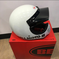 helm bell moto 3 iii classic vintage not cakil agv arai airoh shark