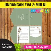 Undangan Pernikahan Jasmine Exclusive Eva & Mulki - Jakarta