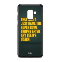 Casing Samsung Galaxy A8 2018 Qoutes Green Bay Packers O0884